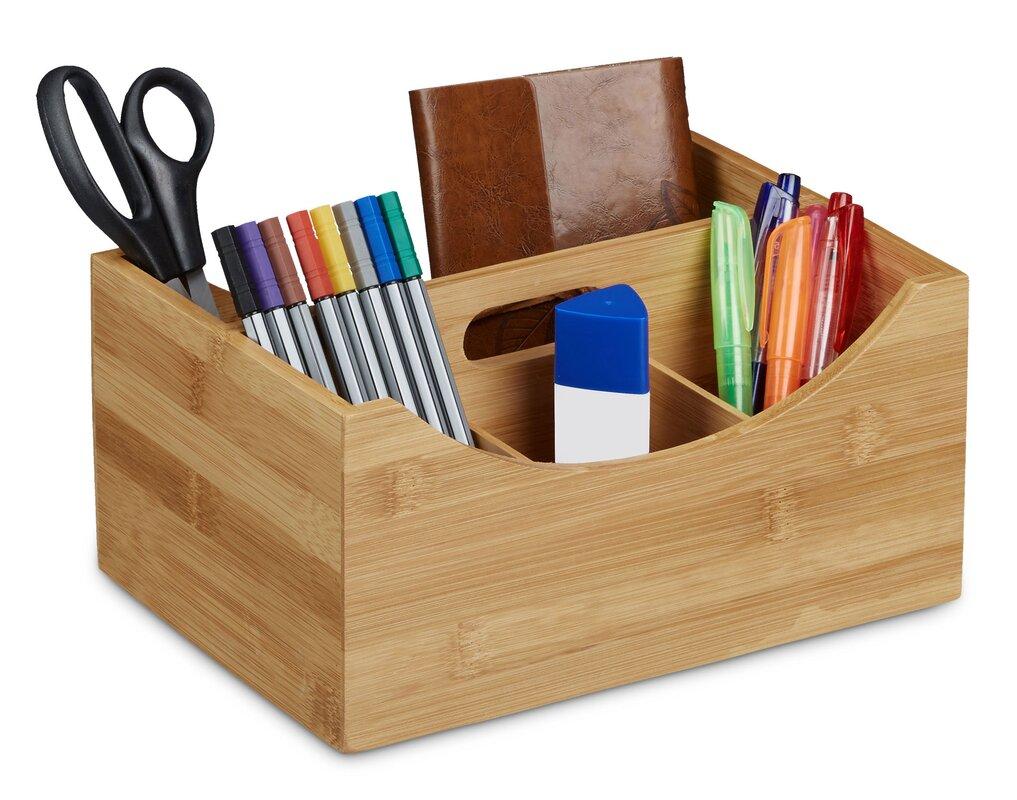 Relaxdays Bamboo Desk Organiser Reviews