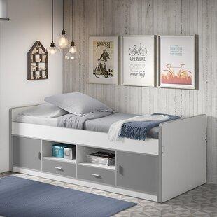 kinderbetten farbe grau marke vipack. Black Bedroom Furniture Sets. Home Design Ideas