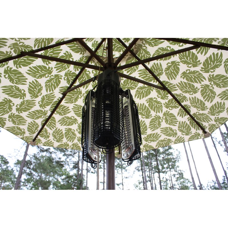Great Umbrella 1500 Watt Electric Hanging Patio Heater
