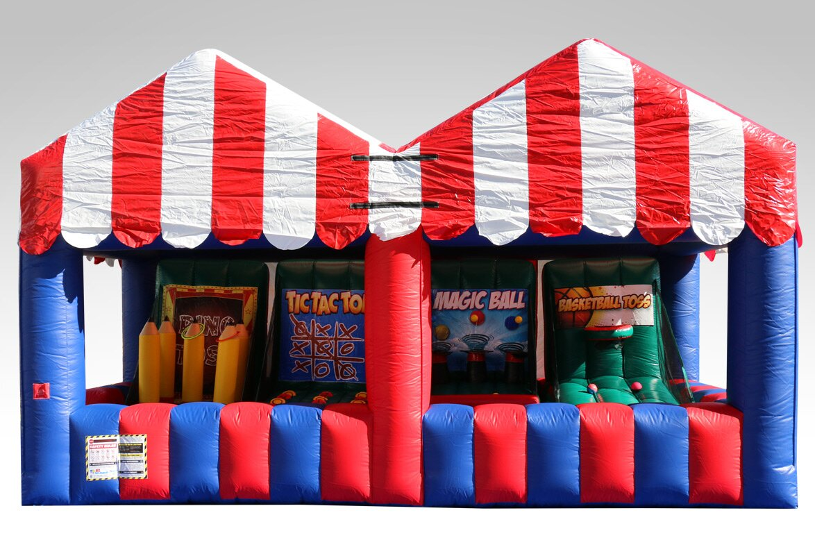 Carnival Game Bounce House & EZInflatables Carnival Game Bounce House u0026 Reviews | Wayfair