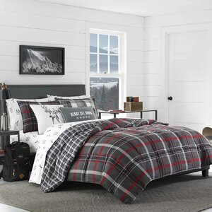 Willow Plaid Comforter Set