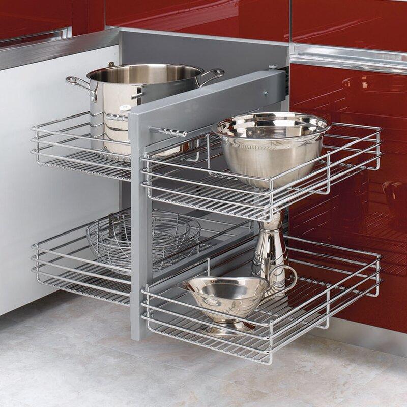 Rev A Shelf Kitchen Blind Corner Cabinet Optimizer