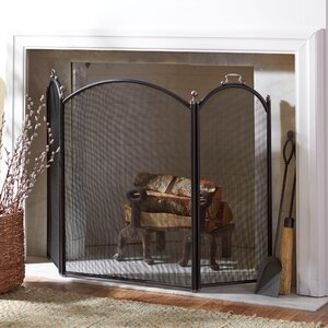 Matlock 3-Panel Fireplace Screen