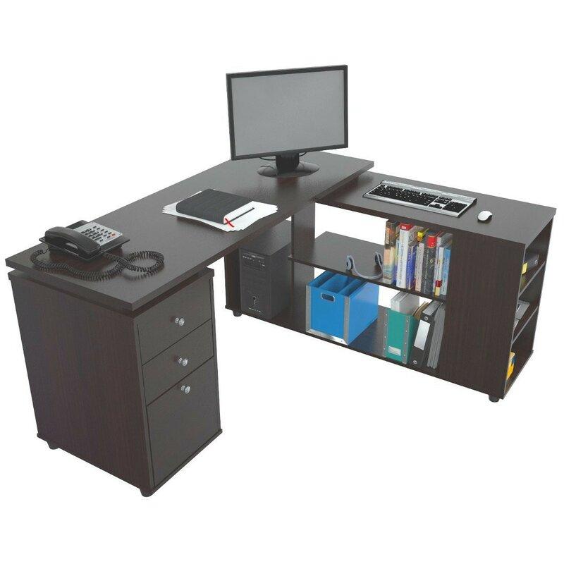 Toby L Shape Computer Desk