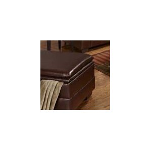 Houle Storage Leather Ottoman by Simmons Upholstery by Darby Home Co