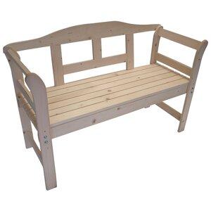 2-Sitzer Gartenbank Lisa aus Massivholz von Garten Living