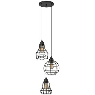 3 pendant light fixture pendant lighting barbosa 3light cluster pendant light pendants youll love wayfair