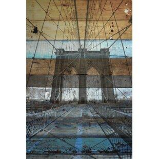 Frameless bridge canvas art wayfair brooklyn bridge nyc graphic art on wrapped canvas malvernweather Gallery