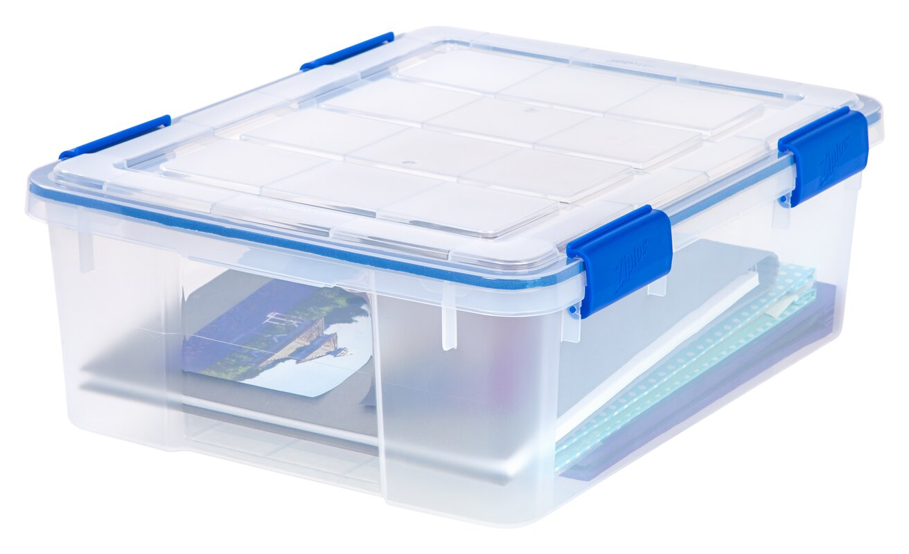 Ziploc Weathershield Storage Box Amp Reviews Wayfair