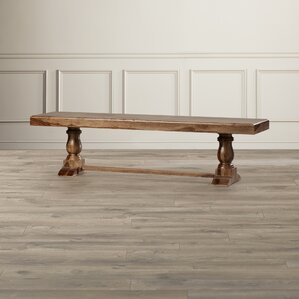 Black Forest Wood Bench by Loon Peak