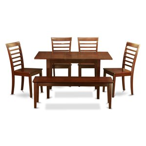 Phoenixville 6 Piece Dining Set by Three Posts