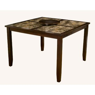 Gast Faux Marble Top Large Pub Table