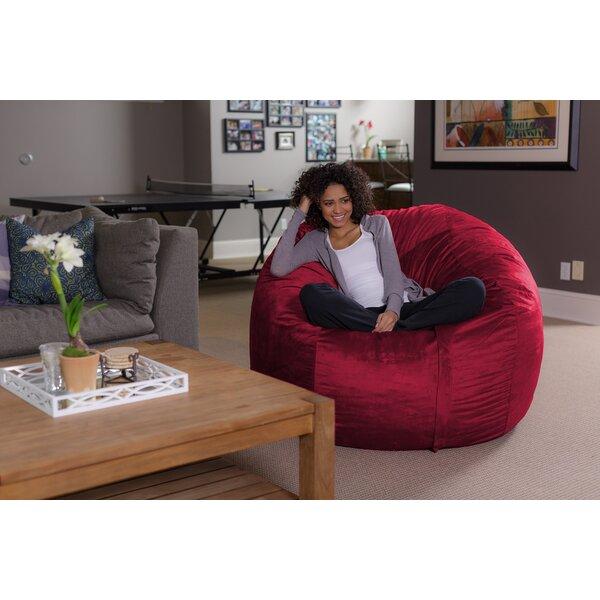 latitude run bean bag sofa  u0026 reviews   wayfair  rh   wayfair