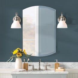 Bathroom lighting youll love wayfair bathroom vanity lighting aloadofball Images