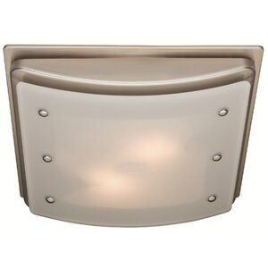 Ellipse 100 CFM Bathroom Fan with Light and Night-light