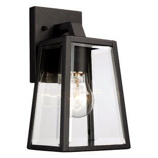 Outdoor lighting sale allmodern sowders 1 light outdoor wall lantern aloadofball Choice Image