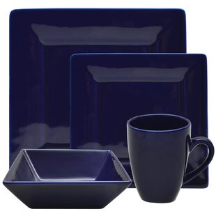 Save  sc 1 st  AllModern & Modern u0026 Contemporary Cobalt Blue Dinnerware Sets | AllModern