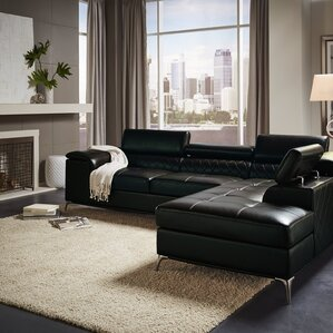 Mayson Reclining Sectional by Wade Logan