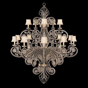 Fine art lamps chandeliers youll love wayfair a midsummer nights dream 15 light candle style chandelier aloadofball Images