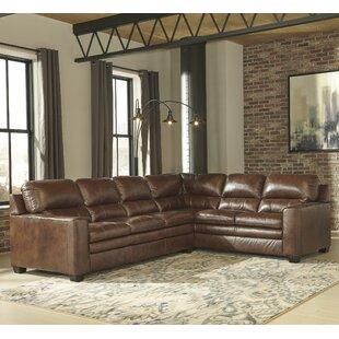 Kolton Leather Modular Sectional
