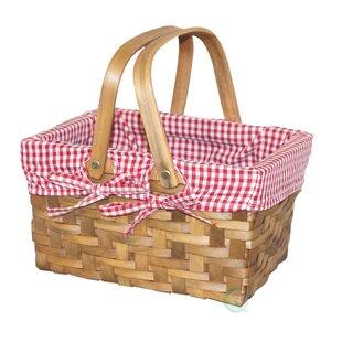 Rectangular Lined Basket