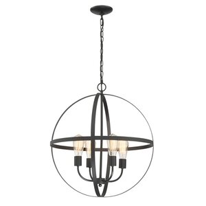 Washtenaw 4-Light Globe Pendant