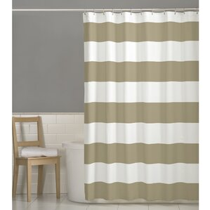 cream and brown shower curtain. Berwyn Fabric Shower Curtain Modern Ivory  Cream Curtains AllModern