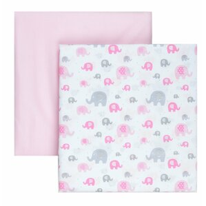 microfiber fitted crib sheets set of 2
