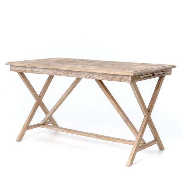 - Design Tree Home Whitewash Writing Desk Wayfair