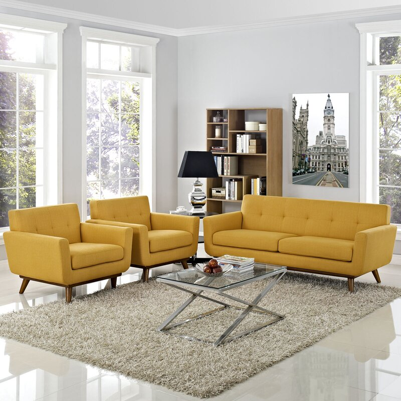 Sensational Saginaw 3 Piece Living Room Set Interior Design Ideas Tzicisoteloinfo