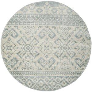 Cavileer Slate/Ivory Area Rug