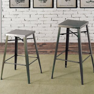 Amias Industrial 30 Bar Stool (Set of 2)