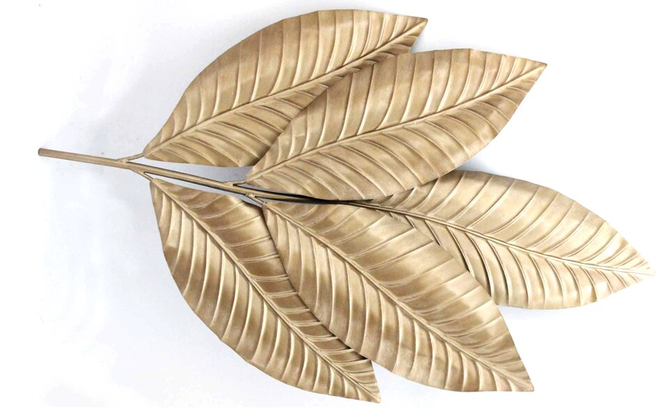 Famous Leaf Wall Decor Model - All About Wallart - adelgazare.info