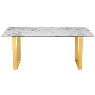 Round Faux Marble Dining Table Wayfair