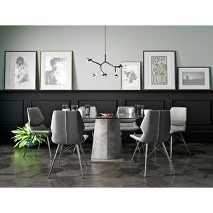 Elegant Anastasia Contemporary 7 Piece Dining Set