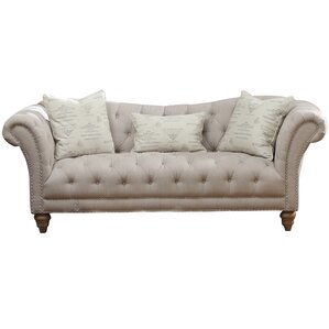 Versailles Chesterfield Sofa by Lark M..