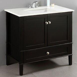 Save Simpli Home Chelsea 37 Single Bathroom Vanity