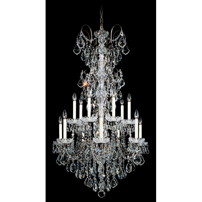 Schonbek New Orleans 14-Light Crystal Chandelier & Reviews ...