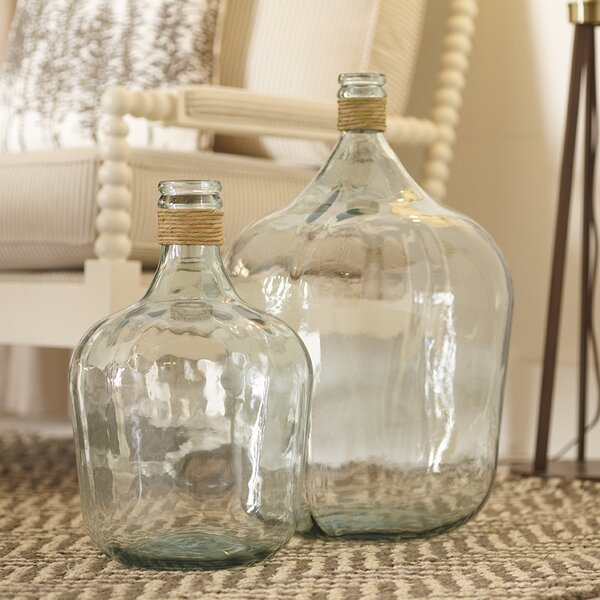 Spanish Recycled Glass Vases Wayfair