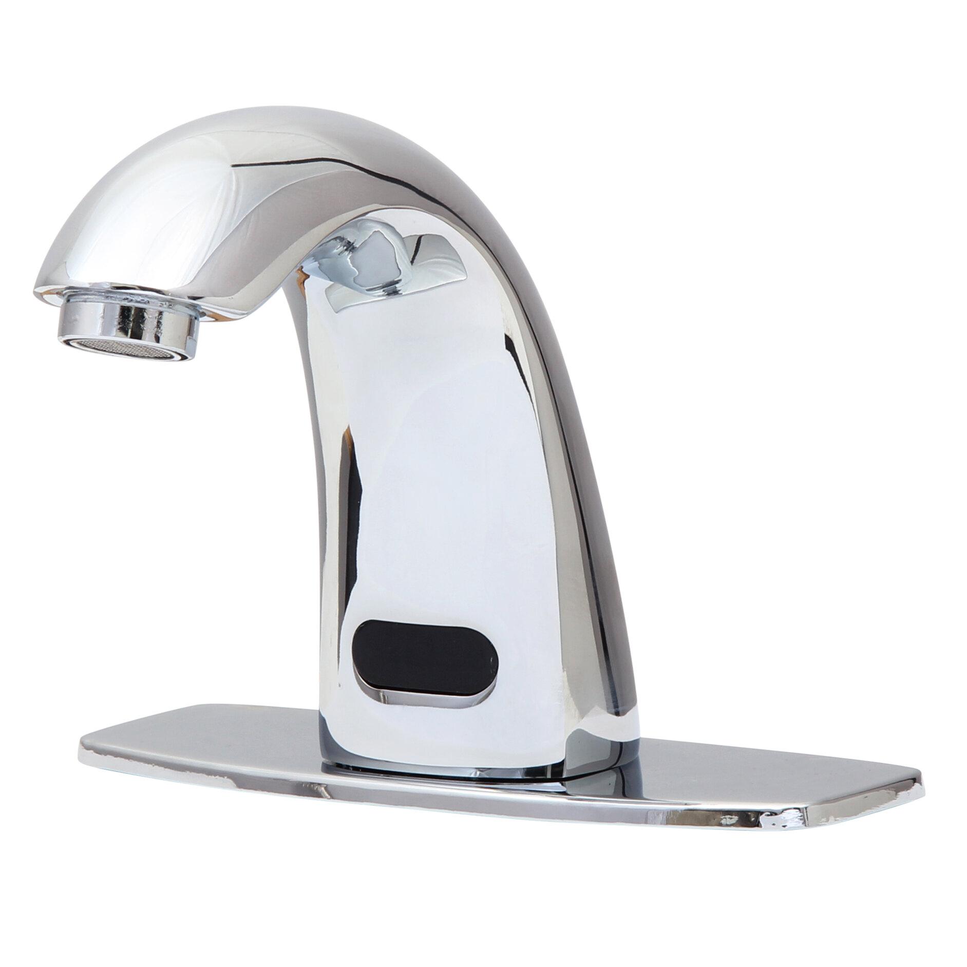 Dyconn Faucet Single Hole Electronic Faucet Less Handles & Reviews ...