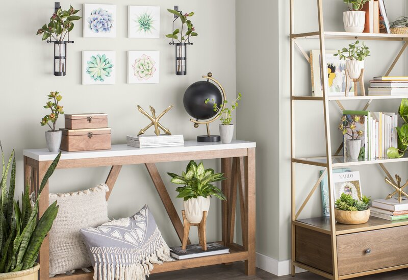 387d3081287 Wrought Studio  Succulents  4 Piece Print Set on Canvas   Reviews ...