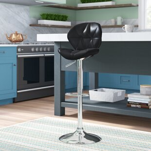 Alexandrea Adjustable Height Swivel Bar Stool