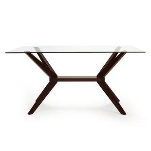 cc62b91f2cc4bd Glass Kitchen & Dining Tables You'll Love | Wayfair