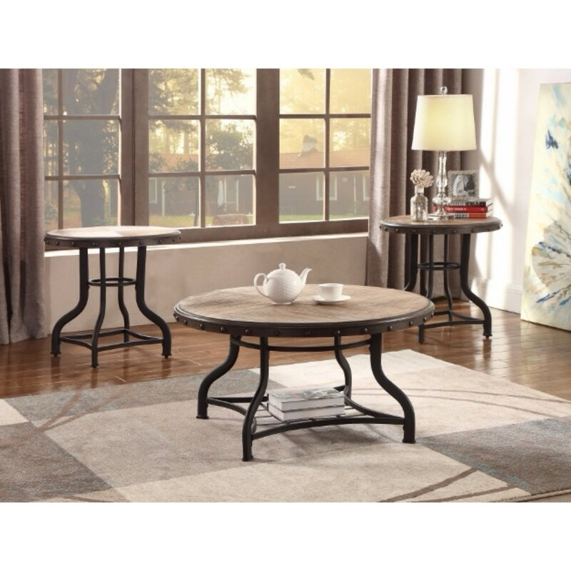 Lola Coffee Table With Storage: Catarina Solid Wooden 3 Piece Coffee Table Set & Reviews