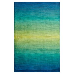 Blue/Green Area Rug
