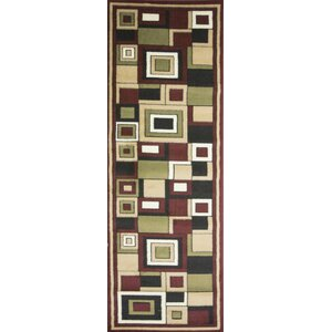 Plaza Red Area Rug