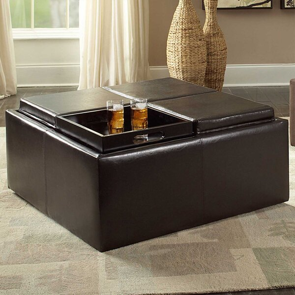 Three Posts Polycarp Storage Ottoman Reviews: Three Posts Lytton Storage Ottoman & Reviews