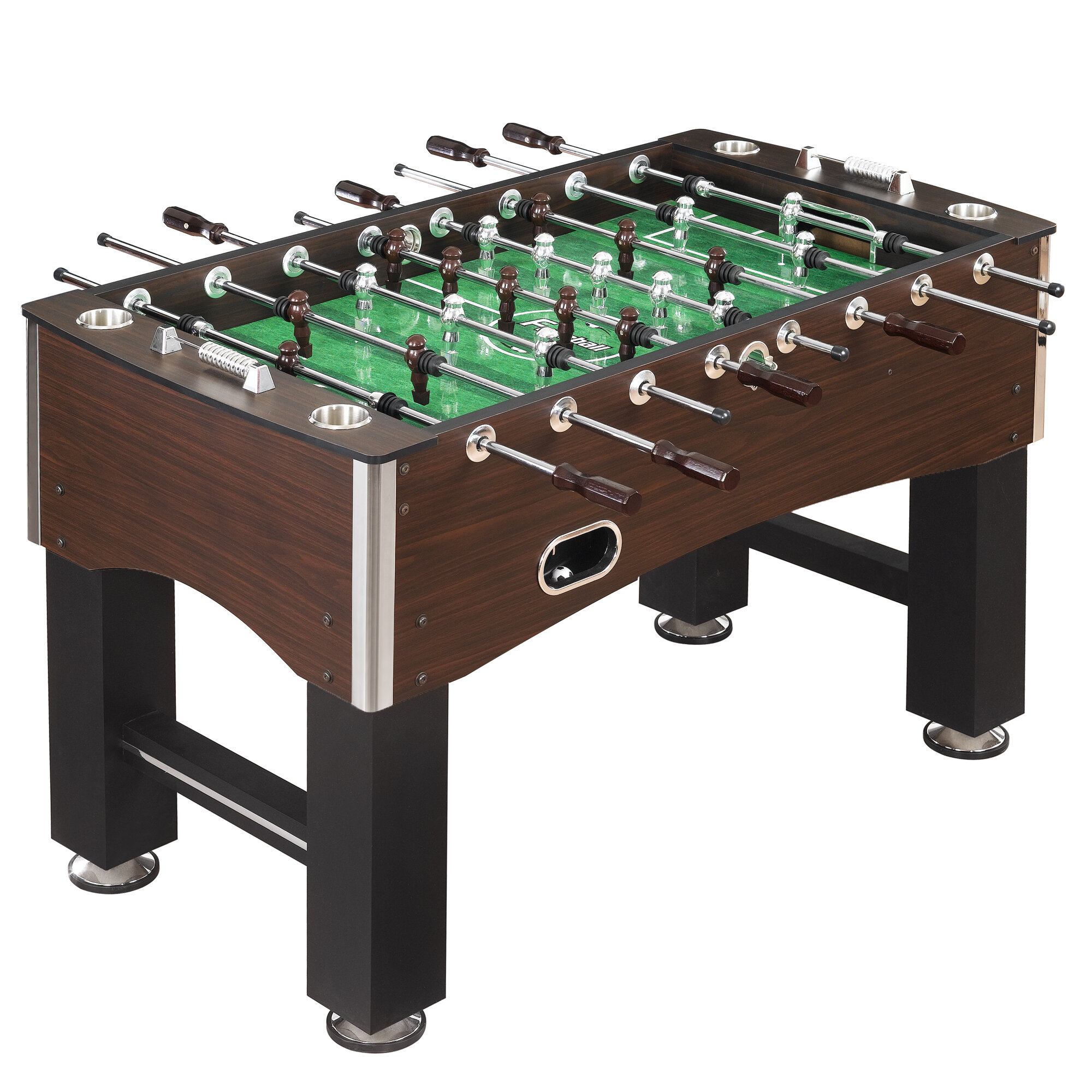Hathaway Games Primo Soccer Foosball Table Reviews Wayfair - Tournament soccer foosball table