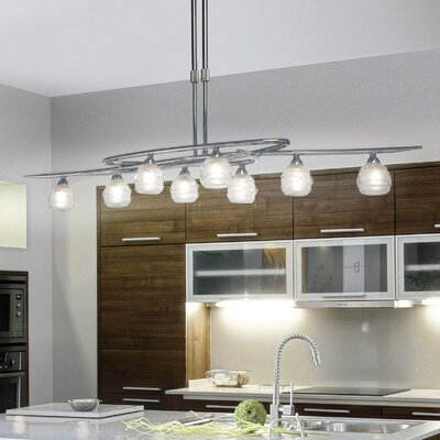 island lighting for kitchen. loop 8light kitchen island pendant lighting for