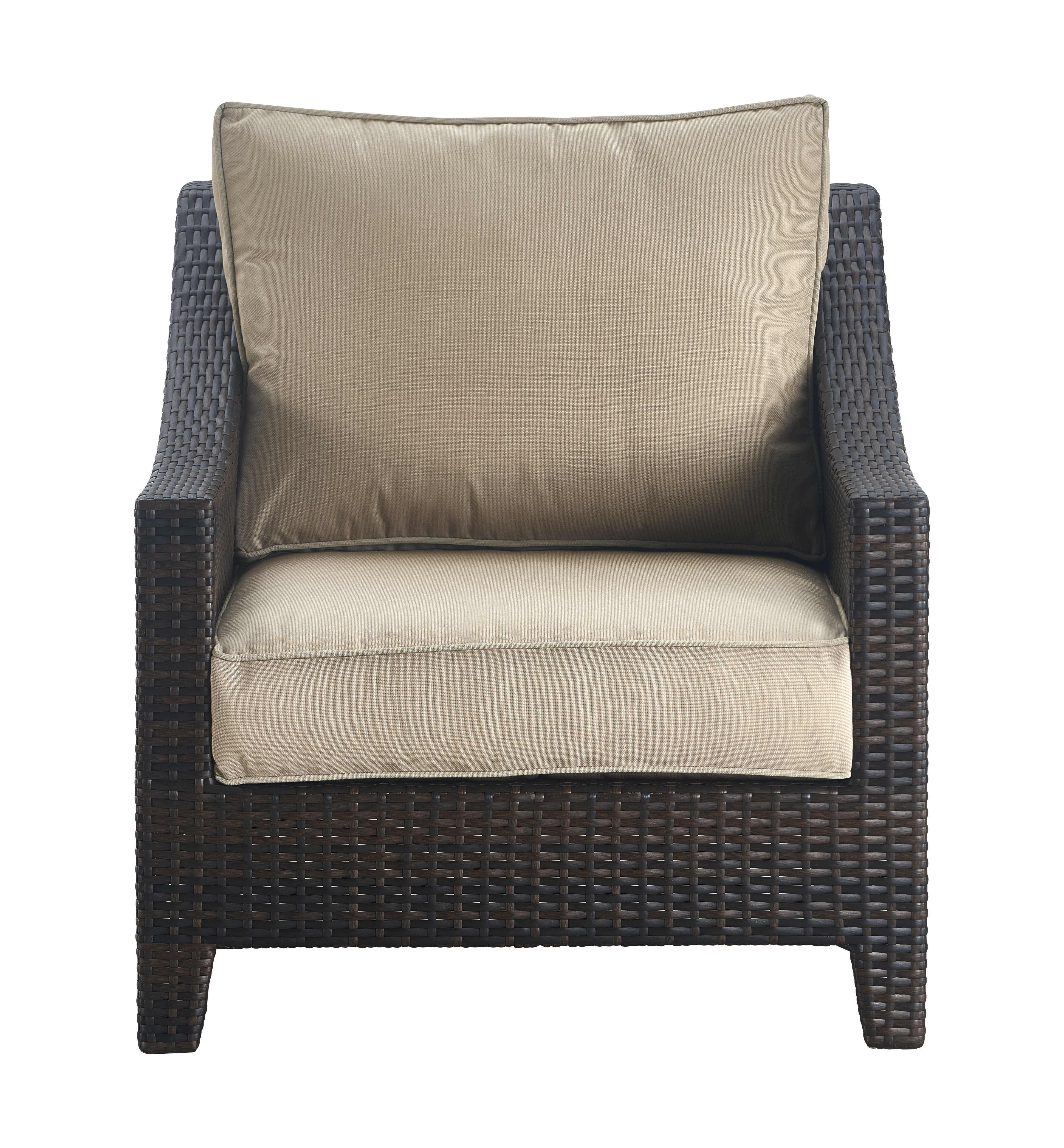 Serta At Home Tahoe Outdoor Wicker Patio Chair With Cushions | Wayfair